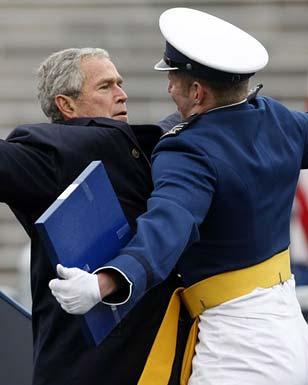 Bush is a douchebag